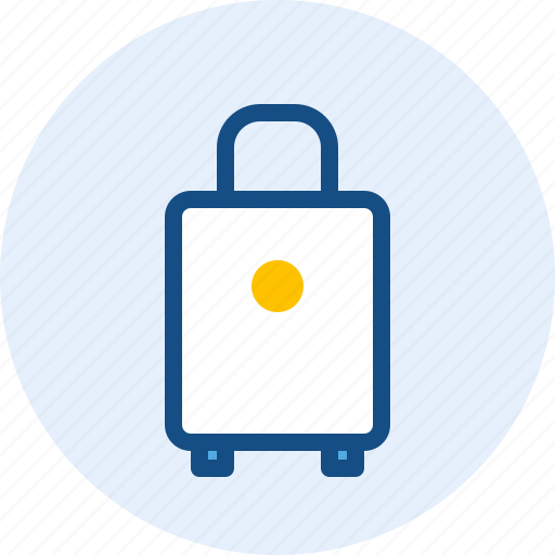bag, case, suitcase, travel icon