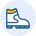 boots, clothing, men, shoes icon
