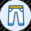 jeans, long, men, pants icon