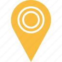 double, google, line, locate, location, pin icon