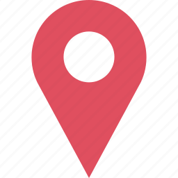 custom, google, locate, location, pin, search icon