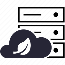 green, host, virtual host icon