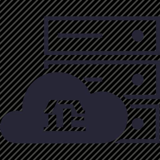 cloud, company, virtual host icon