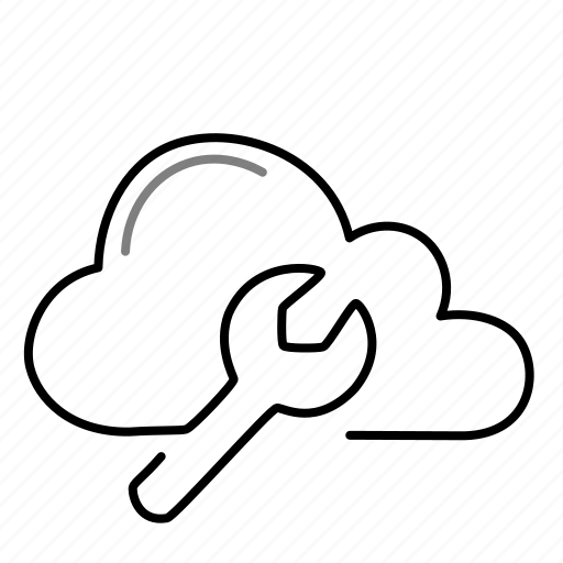 cloud, configuration, preferences, settings icon