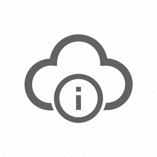 cloud, help, information icon