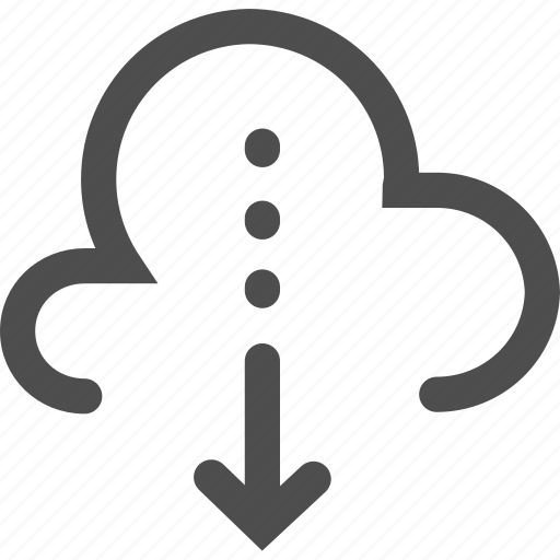 computing, data, download, interface, multimedia, storage icon