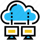 cloud, computing, data, lcd, server, sharing, storage