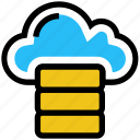 cloud, data, database, hosting, network, server, storage