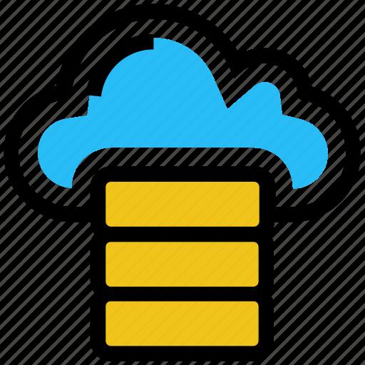 Cloud, data, database, hosting, network, server, storage icon - Download on Iconfinder