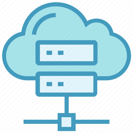 cloud, data, database, hosting, server, sharing, storage icon