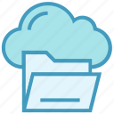 archive, cloud, data, directory, drive, folder, storage