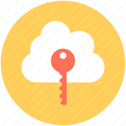 cloud computing, cloud security, network password, network security, privacy code icon