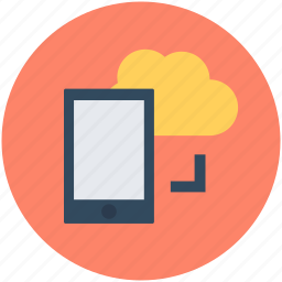 cloud network, mobile cloud, mobile cloud computing, wireless communication, wireless network icon