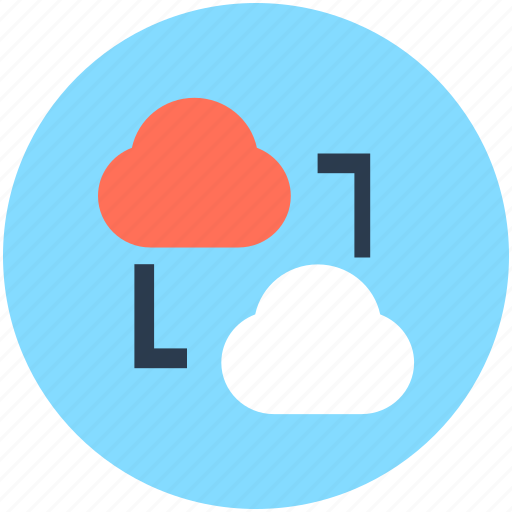 cloud computing, cloud network, cloud sharing, network sharing, social media icon