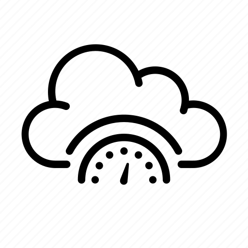 cloud computing, online, performance, ui icon