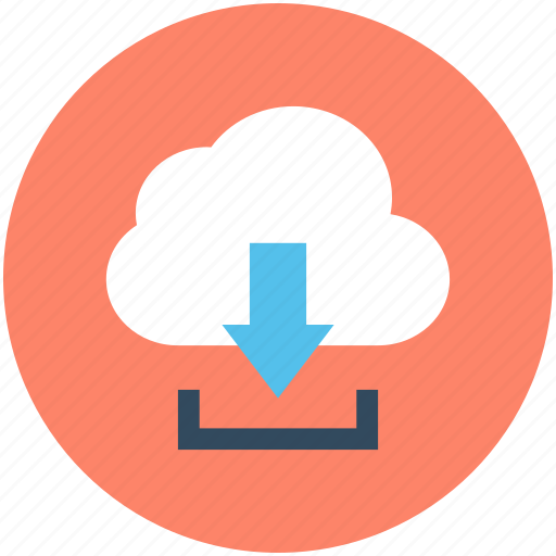 cloud download, cloud network, cloud sharing, computing, download icon