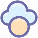 cloud, cloud computing, computing, help, weather icon