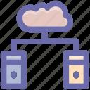 cloud data, database, cloud computing, storage, servers, connection, cloud