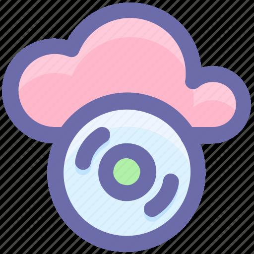 cd, cloud cd, cloud computing, disk, dvd icon