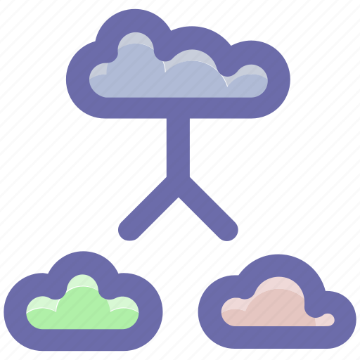 cloud internet, cloud network, connected clouds, internet connection, internet connectivity icon
