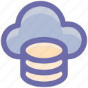 cloud, cloud computing, internet, seo, system, web icon
