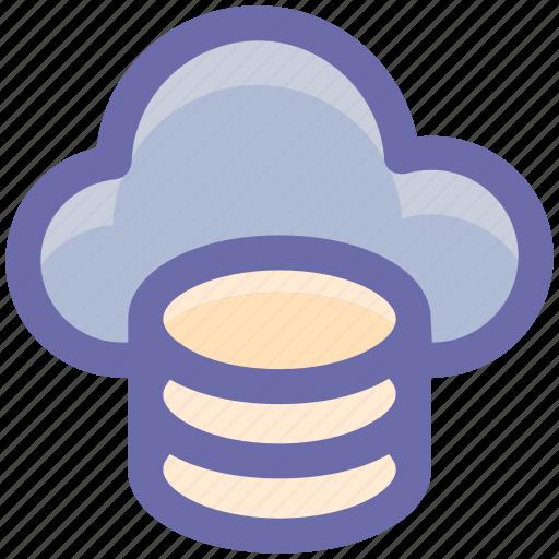 cloud, cloud computing, internet, seo, system, web icon