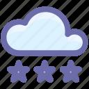 cloud, cloud ice, ice, snow, weather, winter