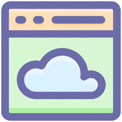 analysis, business, cloud, computing, office, service, work icon icon