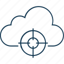 cloud maintenance, cloud optimization, cloud settings, network settings, settings icon