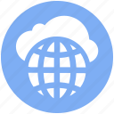 .svg, cloud globe, cloud wireframe globe, cloud world, globe, universe, world, world globe icon