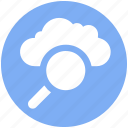 .svg, cloud computing concept, cloud find, cloud magnifier, cloud with magnifier, searching cloud computing, sign magnifier icon