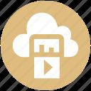 .svg, cloud computing, cloud computing concept, cloud music, cloud networking, music, music on cloud icon