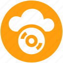 .svg, cd, cloud cd, cloud computing, disk, dvd, multimedia icon