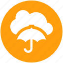 .svg, cloud computing, cloud network, network projection, network security, umbrella icon