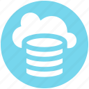 .svg, cloud data, cloud system, database, mysql, server, storage icon