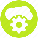 .svg, cloud computing, cloud gear, cloud technology, internet cloud with gear, internet configuration setting, settings concept