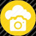 .svg, camera, cloud, image, multimedia, photo, picture icon icon