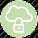 .svg, cloud network safety, cloud networking safety, cloud security, internet security, internet security padlock, locked internet