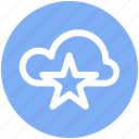 .svg, bookmark, cloud, cloud star, favorite, star, storage icon