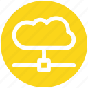 .svg, cloud connection, cloud internet, cloud network, cloud system, wireless network icon