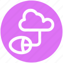 .svg, cloud computing, cloud data, cloud monitoring, data center, mouse icon