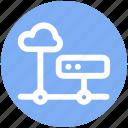 .svg, cloud computing server, cloud hosting, cloud internet hosting, cloud network, cloud server icon