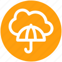 .svg, cloud computing, cloud network, network projection, network security, umbrella