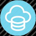 .svg, cloud data, cloud system, database, mysql, server, storage