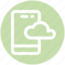 .svg, cloud, cloud mobile, computing, mobile, smartphone icon