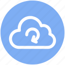 .svg, cloud network, cloud refresh sign, cloud reload, cloud storage cycle, sync concept