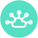 .svg, cloud, cloud computing, cloud sharing, cloud structure, network, share icon