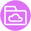 .svg, cloud, cloud computing, cloud folder, files, folder, storage icon