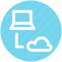 .svg, cloud, cloud computing, computer, connection, network, storage icon