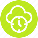 .svg, backup, cloud clock, cloud computing, history, schedule, timer icon